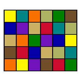 "Mosaic Squares Seating Rug (10\' 9\"" W x 13\' 2\"" L)"