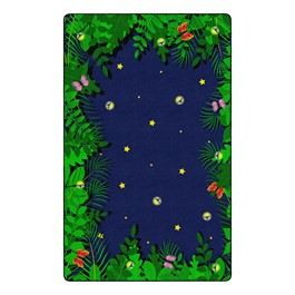"Dragonfly Night Rug - Rectangle (7\' 6"" W x 12\' L)"
