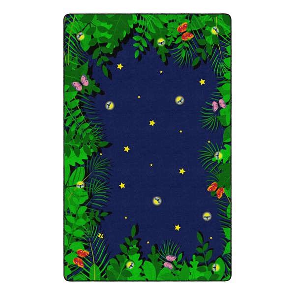 """Dragonfly Night Rug - Rectangle (7' 6"""" W x 12' L)"""