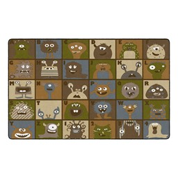 "Natural Monster Seating Rug (7' 6"" W x 12' L)"