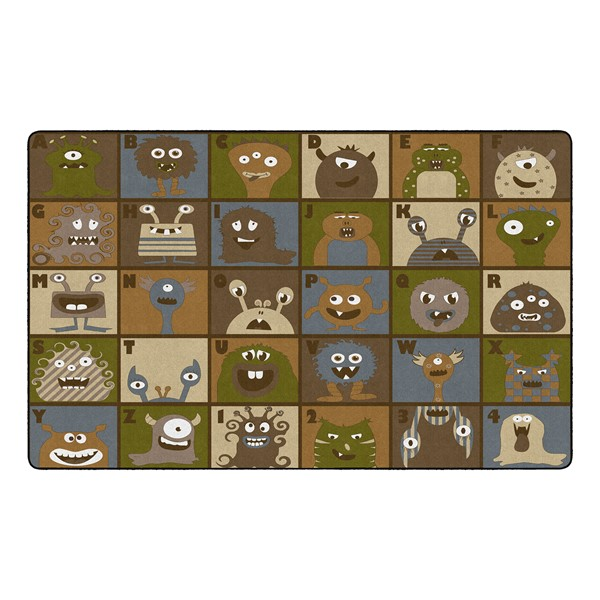 """Natural Monsters Seating Rug (7' 6"""" W x 12' L)"""