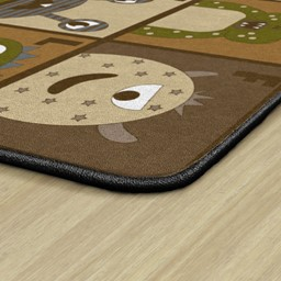 Natural Monster Seating Rug