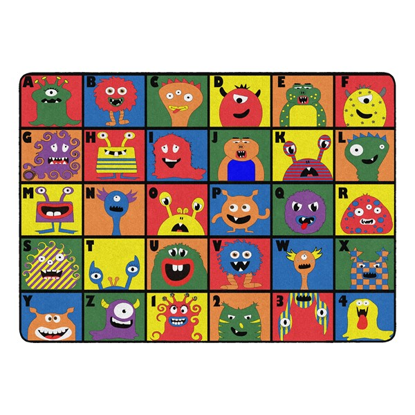 """Monster Seating Rug (6' W x 8' 4"""" L)"""