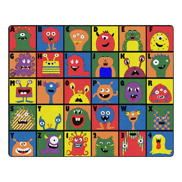 """Monster Seating Rug (10' 9"""" W x 13' 2"""" L)"""