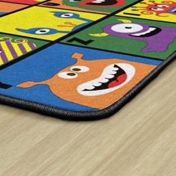 Monster Seating Preschool Rug