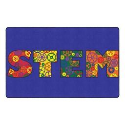 """STEM Classroom Rug (7' 6"""" W x 12' L)"""
