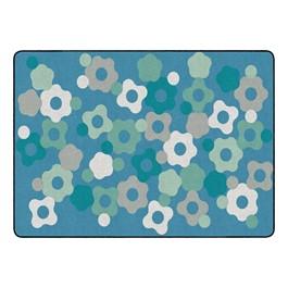 "Contemporary Color Cog Classroom Rug - Rectangle (6\' W x 8\' 4\"" L)"