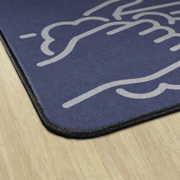 Employees Hand Wash Durable Rug - Rectangle