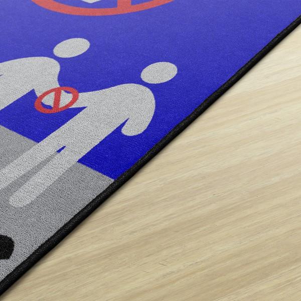 Help Prevent the Spread Durable Rug - Edge