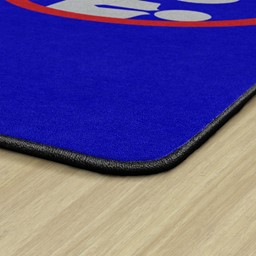 Help Prevent the Spread Durable Rug - Corner