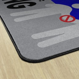 Help Prevent the Spread Durable Rug - Rectangle
