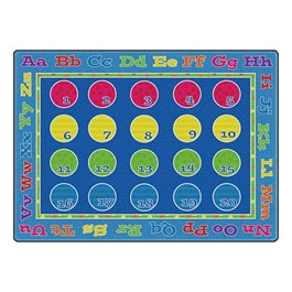 """Fun with Colors Seating Rug - (5\'10\"""" W x 8\'4\"""" L)"""