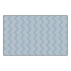 Chevron Fun Rug - Pattern - Grey