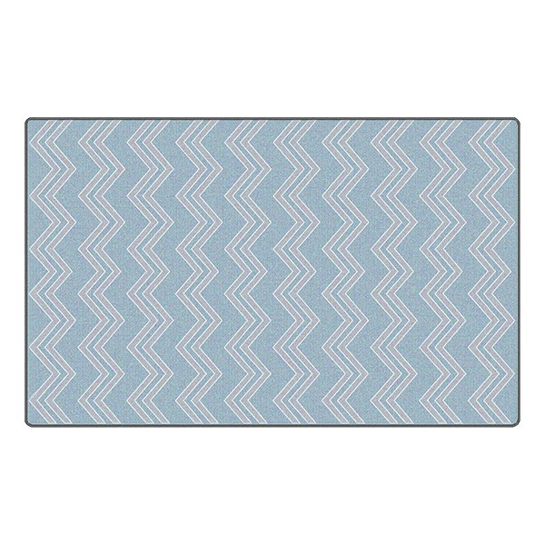 Chevron Fun Rug - Pattern - Grey