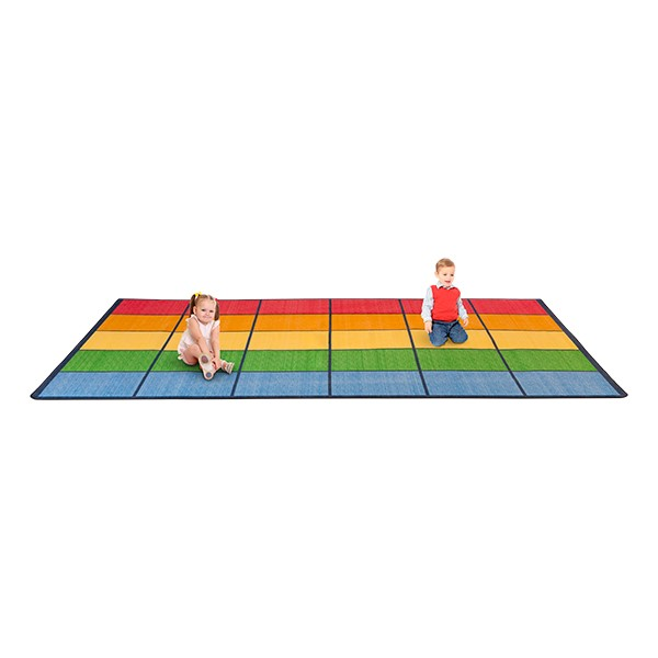 Colorful Squares Seating Rug