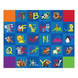 "Alphabet Animals Rug - Rectangle (10\' 9\"" W x 13\' 2\"" L)"