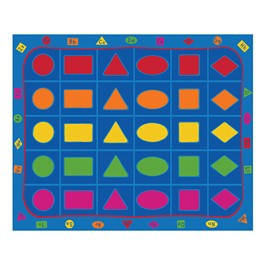 Learning Our Shapes Rug