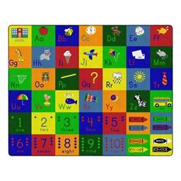 "Big Blocks Playtime Rug (10' 9"" W x 13' 2"" L)"