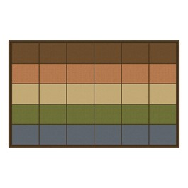 Natural Colors Seating Row Rug