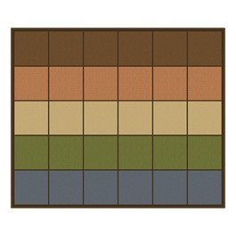 """Natural Colors Seating Row Rug (10\' 9\"""" W x 13\' 2\"""" L)"""