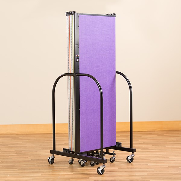 Rainbow Freestanding Portable Partition - Folded