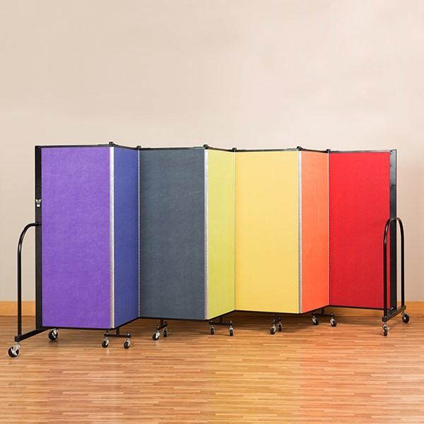 Rainbow Freestanding Portable Partition