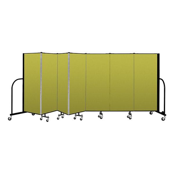 """4' H Freestanding Portable Partition - 7 Panels (13' 1"""" L)"""