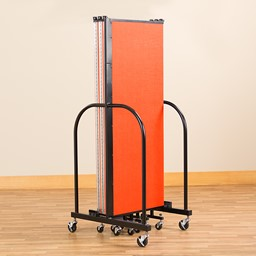 4' H Freestanding Portable Partition - Folded