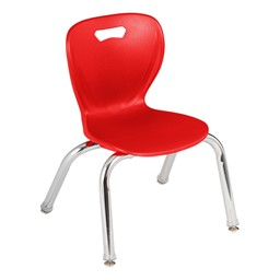 Shapes Series Kids Plastic Chair - Red