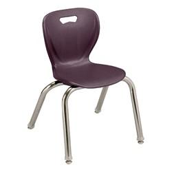 "Shapes Series Preschool Chair (14"" H) - Eggplant"