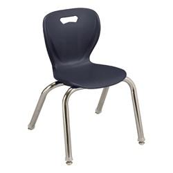 "Shapes Series Preschool Chair (14"" H) - Navy"