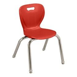 "Shapes Series Preschool Chair (14"" H) - Red"