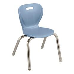 "Shapes Series Preschool Chair (14"" H) - Sky Blue"