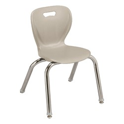 "Shapes Series Preschool Chair (14"" H) - Stone"