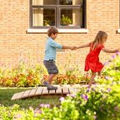 Outdoor Balance Beams & Stepping Stones
