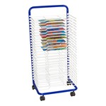 "Art Drying Rack (17 1/2"" W x 14 1/2"" D x 38"" H) - Shown w/ art projects"