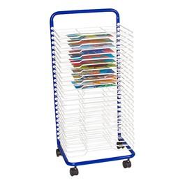 "Art Drying Rack (17 1/2\"" W x 14 1/2\"" D x 38\"" H) - Shown w/ art projects"