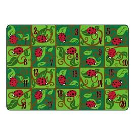"""Leafy Ladybug Rug™ (5\' 10\"""" W x 8\' 4\"""" L)"""