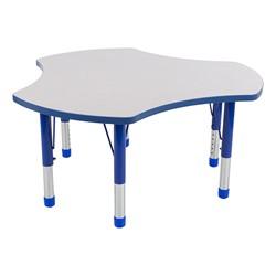 Preschool Cog Collaborative Table w/ Gray Top