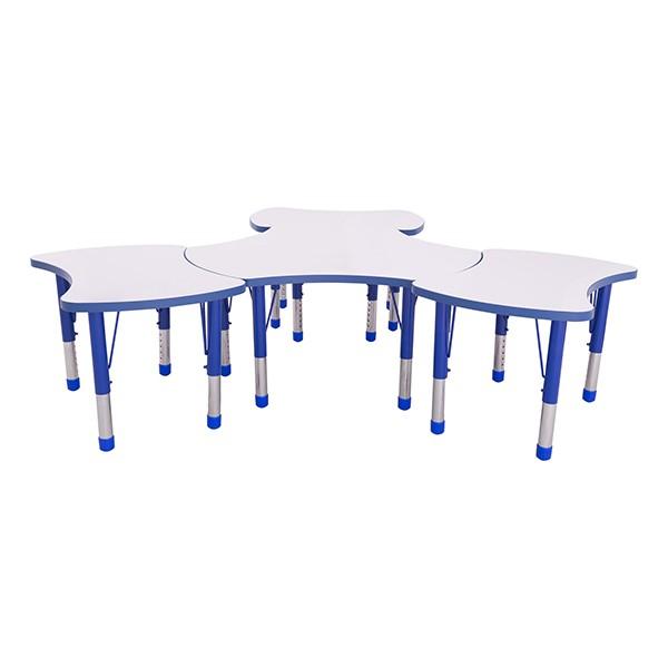 preschool table. Preschool Bow Tie \u0026 Cog Collaborative Table W/ Whiteboard Top Set