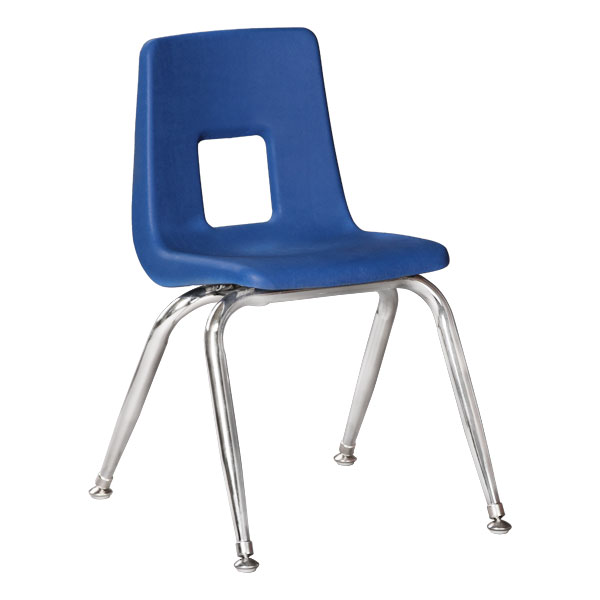 Sprogs' 100 Series Preschool Chair w/ Chrome Legs
