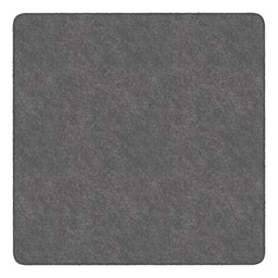 Healthy Living Solid Color Rug - Square (6' W x 6' L) - Gray