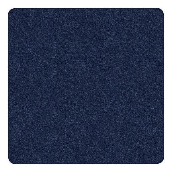 Healthy Living Solid Color Rug - Square (6' W x 6' L) - Navy