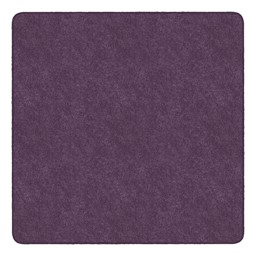 Healthy Living Solid Color Rug - Square (6' W x 6' L) - Purple