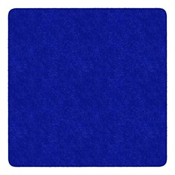 Healthy Living Solid Color Rug - Square - Royal Blue