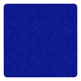 Healthy Living Solid Color Rug - Square (6\' W x 6\' L) - Royal Blue