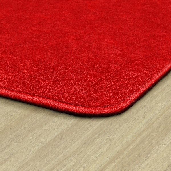 Healthy Living Solid Color Rug – Edges