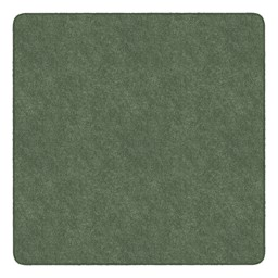 Healthy Living Solid Color Rug - Square (6' W x 6' L) - Sage Green