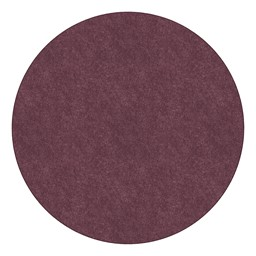 Healthy Living Solid Color Rug - Round - Plum