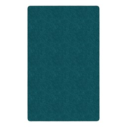 Healthy Living Solid Color Rug - Rectangle - Marine Blue